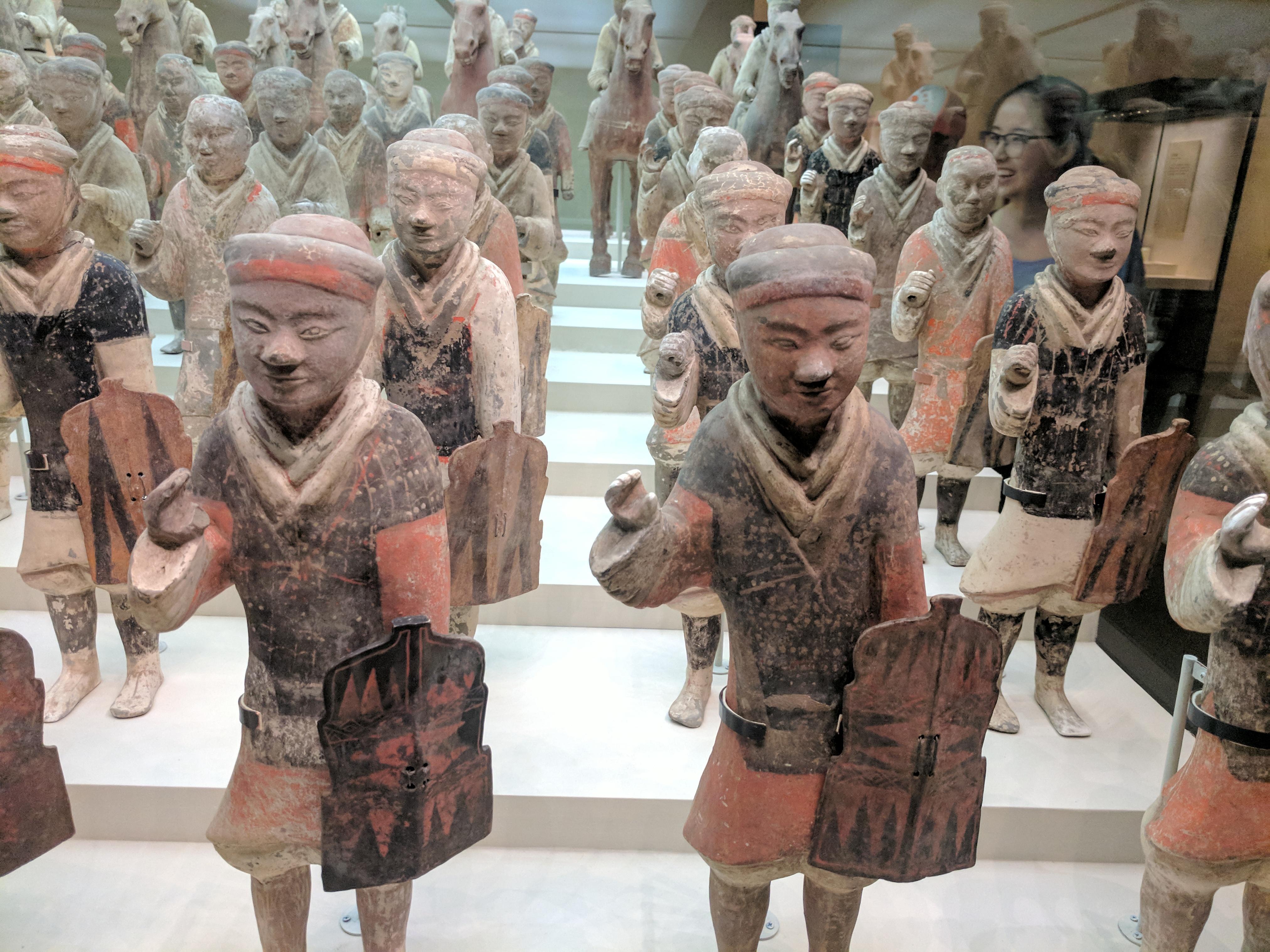 Keramikkrieger, Miniaturen