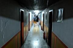 Zugang zur Trainingshalle