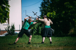 Kurzdemo Rüstung & Halbschwert